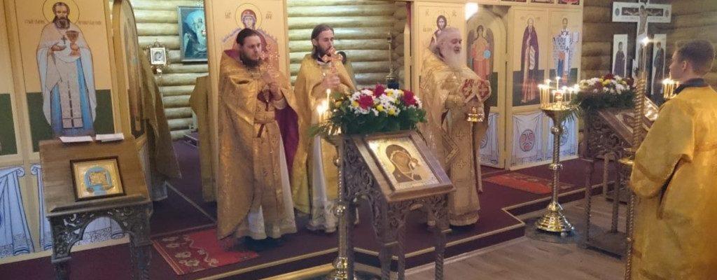 Престольный праздник в Межевом